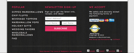 newsletter-in-footer