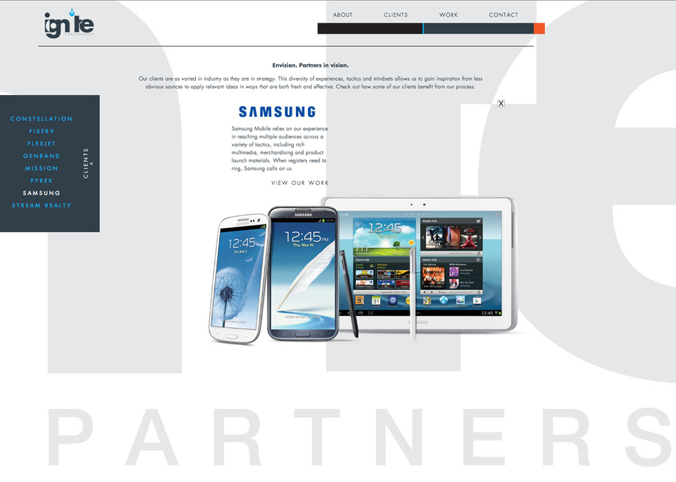 Ignite Samsung