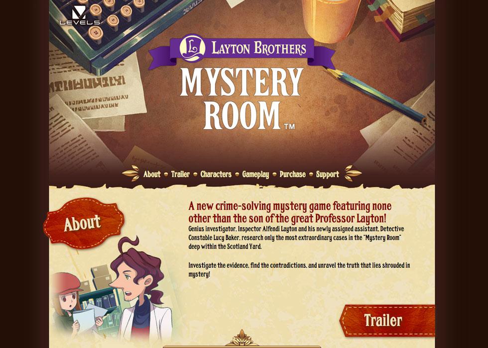 Mystery Room Header