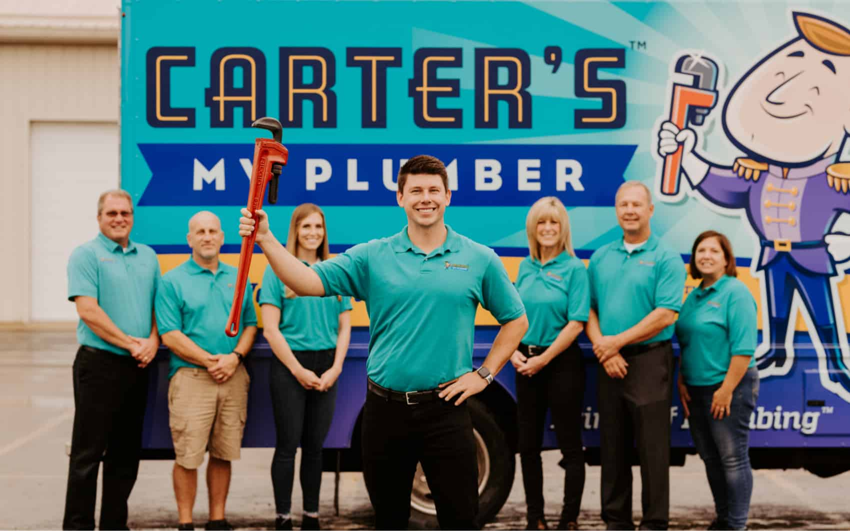 Carter's My Plumber Cover